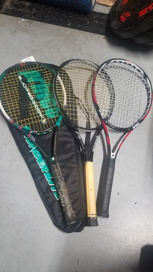 3 prince tennis rackets for Sale in Issaquah, WA