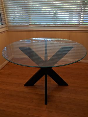 Kitchen table glass top for Sale in Los Altos, CA