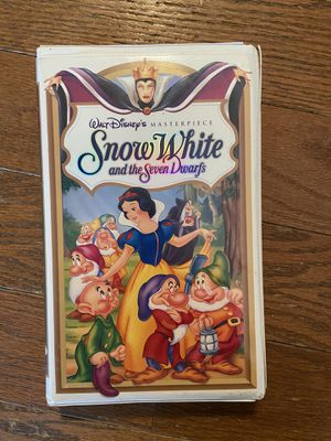 Snow White and the Seven Dwarfs Disney Masterpiece Edition VHS for Sale in Byrnes Mill, MO