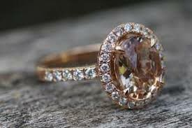 Large gemstone rose gold filled ring for Sale in Lawton, OK