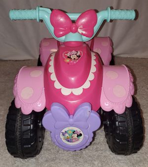 Minnie mouse 4wheeler 6volt for Sale in Elkins, WV