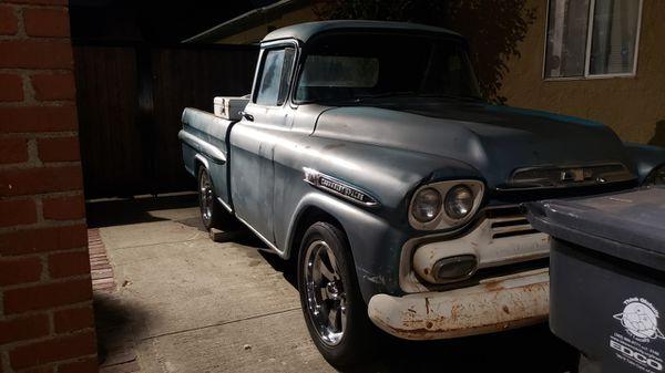 1959 chevy Fleetside