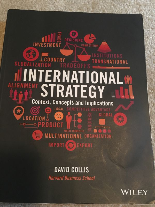 International Strategy by David Collis