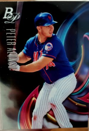 Pete Alonso bowman platinum 2018 for Sale in Berwyn, IL