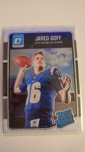 2016 Panini Optic Jared Goff Rated Rookie for Sale in Glendale, AZ