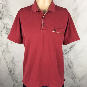 Maroon Burberry Polo Shirt for Sale in Colorado Springs, CO