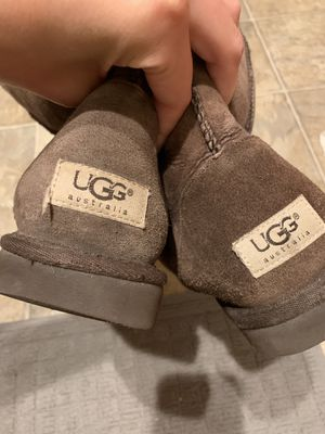 Brown UGG boots, size 9, gently worn for Sale in San Diego, CA