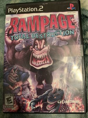 Rampage total destruction (ps2) (playstation 2) for Sale in Bakersfield, CA