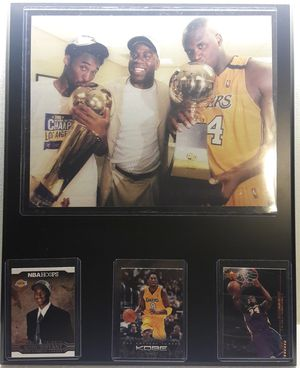 Kobe Bryant and shaq plaque for Sale in Commerce, CA