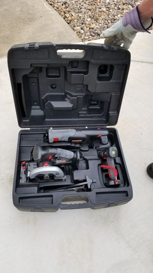 Craftsman cordless Reciprocating saw, circular saw and drill NO BATTERY!! for Sale in Garden Ridge, TX