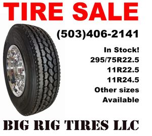 New Semi Truck Tires tire for Sale in Wood Village, OR