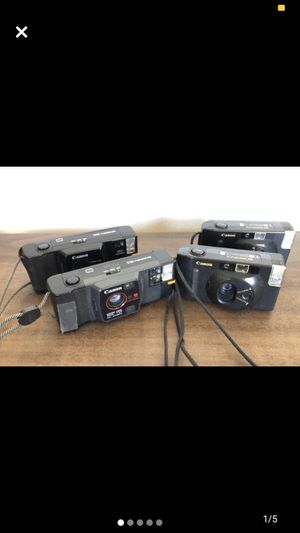 4 Canon Snappy Lot UNTESTED for Sale in Smithfield, RI