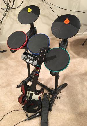 Guitar, drum set for Sale in Manassas, VA
