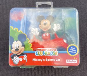 Disney Junior Mickey Mouse Clubhouse Goofy's Jalopy & Mickeys Car for Sale in Houston, TX