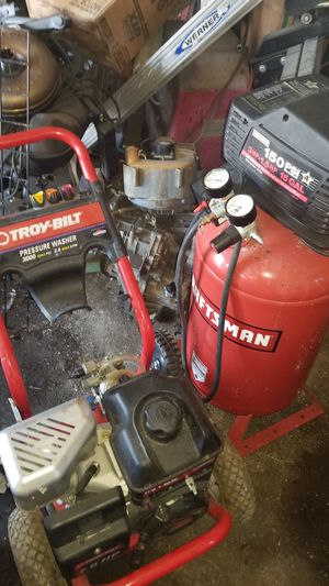 Pressure washer & air compressor for Sale in Orlando, FL