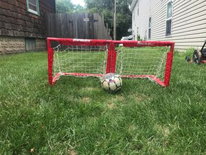 Soccer ball with mini hoops for Sale in Lincoln, NE