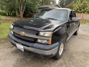 2004 Chevy Silverado 1500 for Sale in Snohomish, WA
