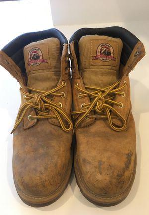 Men's Brahma Steel Toe Work Boots - size 9.5 for Sale in Philadelphia, PA