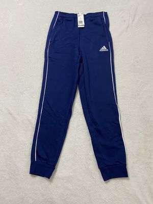 Adidas fleece sweat pants tapered joggers men's size small for Sale in Bethlehem, PA