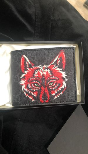 Gucci wolf wallet brand new for Sale in Anaheim, CA
