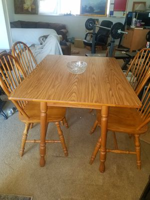 Antique handcrafted Wooden Table & Chairs for Sale in Fairfax, VA