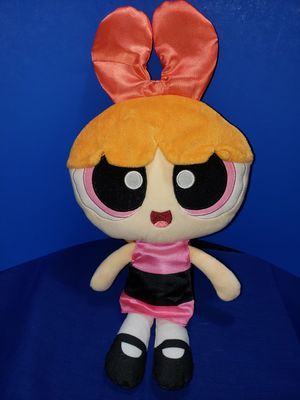Powerpuff girl Bloosom-Belle talking speak to me doll recorder inside & new batteries for Sale in Zanesville, OH