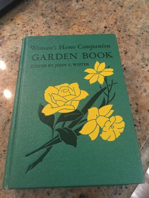Vintage garden book for Sale in Temecula, CA