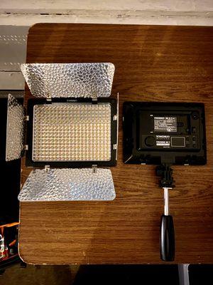 Pair of Yongnuo YN300 III LED Camera Lights for Sale in Philadelphia, PA