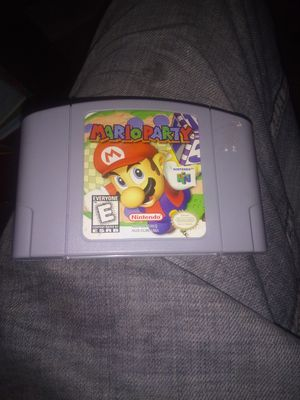 MARIO PARTY ONE NINTENDO 64 VTG TESTED GAME 30.00 OBO for Sale in Newark, OH