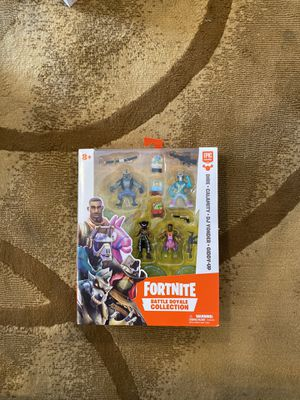 Fornite action figure collection for Sale in Los Angeles, CA