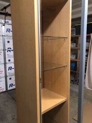 Modern Curio Cabinet Glass shelves for Sale in Bend, OR