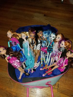 abec966ba448d9 Twin bed frame. $50.00 OBO.... monster high dolls.. $3.00