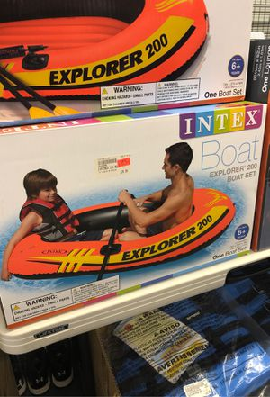 Inflatable boat 2 person for Sale in Renton, WA