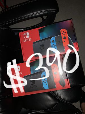 Brand New V2 Nintendo Switch Console Neon Red for Sale in Corona, CA