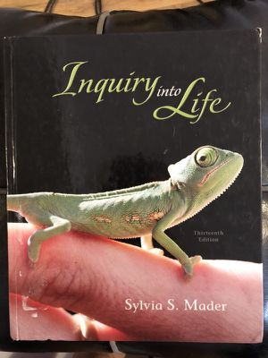 Inquiry into Life (13 edition) by Sylvia S. Mader for Sale in Pittsburgh, PA
