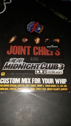 Midnight club 3 collector's cd for Sale in Rancho Cucamonga, CA