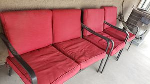 Mainstay red patio set for Sale in Lake Elsinore, CA