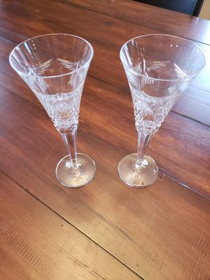 Waterford Crystal Toasting Flutes for Sale in Waynesville, MO