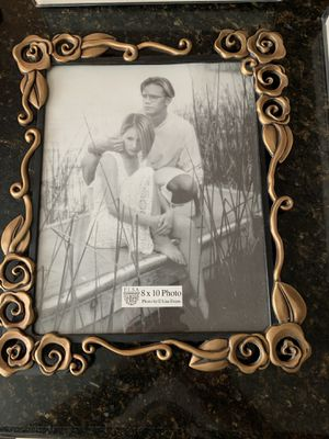Set of 5 bronze picture frames. Originally from Mervyn's for Sale in Union City, CA