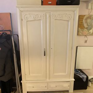 Vintage style Wood Armoire for Sale in Brooklyn, NY