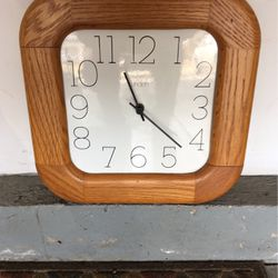 Linden Battery Wall Clock for Sale in Plainfield,  IL