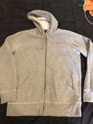 Men's small Oakley hoodie gray jacket with frog for Sale in Taylors, SC