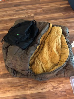 Teton Sports Green Sleeping Bag for Sale in Clearwater, FL