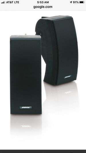 BOSE 251 ENVIRONMENTAL OUTDOOR SPEAKERS for Sale in Queens, NY