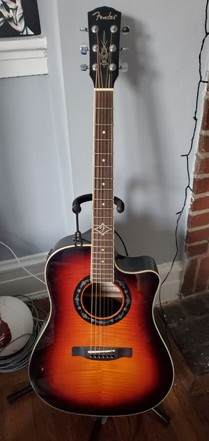 Fender T-Bucket 300CE 3TS Acoustic Guitar for Sale in Queens, NY