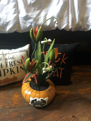 Biting Blossoms artificial Halloween Plant- Hyde and Eek! for Sale in Woonsocket, RI