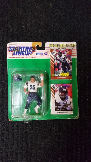 Starting Lineup Jr. Seau #55 Chargers for Sale in Lakeside, CA