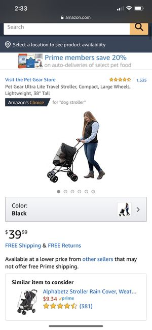 Dog stroller for Sale in Burien, WA