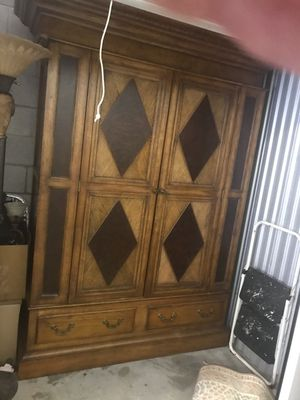 Solid Wood Entertainment Center for Sale in Nashville, TN