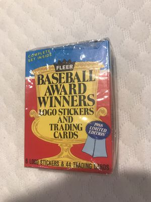 Fleer: baseball cards + stickers for Sale in Tacoma, WA